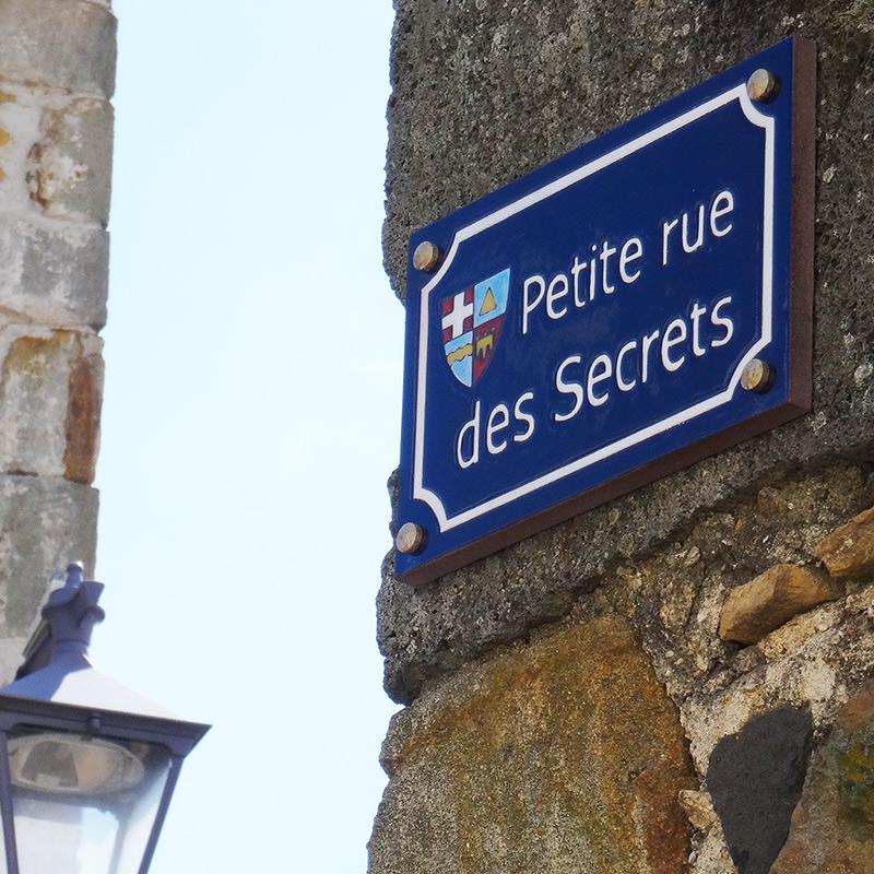 Plaque émaillée Auvergnee